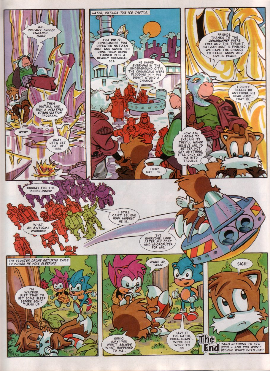Sonic - The Comic Issue No. 051 Page 22