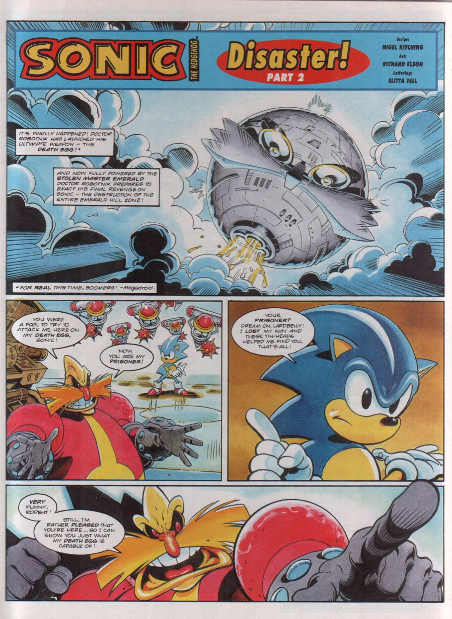 Sonic - The Comic Issue No. 052 Page 2