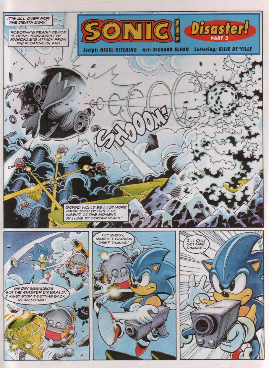 Sonic - The Comic Issue No. 053 Page 2