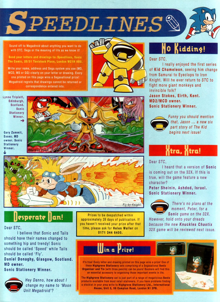 Sonic - The Comic Issue No. 053 Page 29