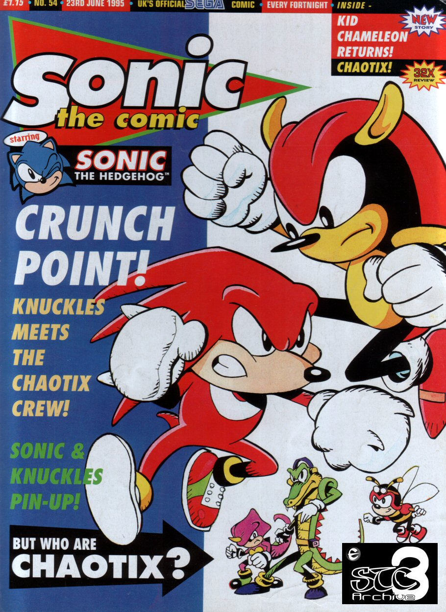 Sonic - The Comic Issue No. 054 Comic cover page
