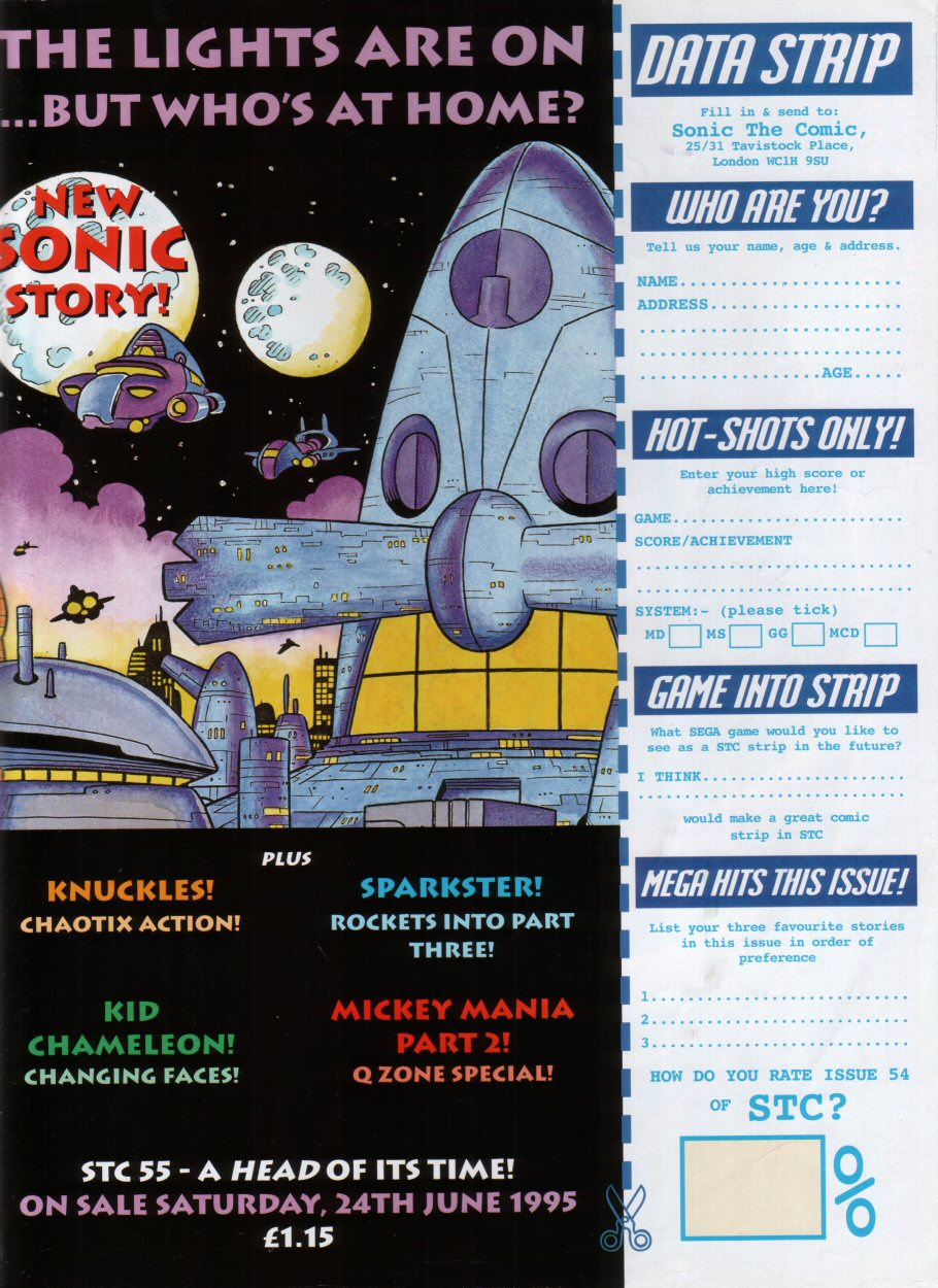 Sonic - The Comic Issue No. 054 Page 30