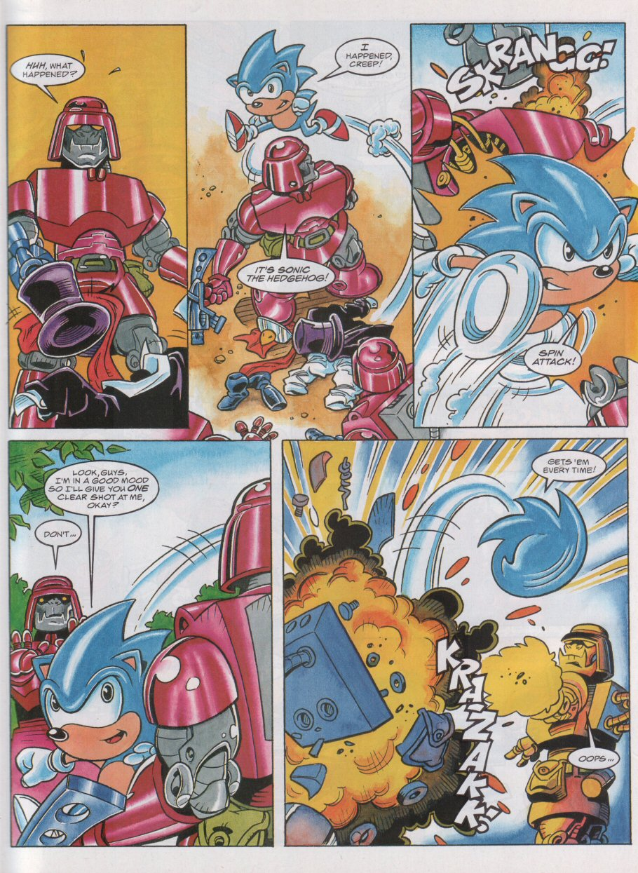 Sonic - The Comic Issue No. 055 Page 5