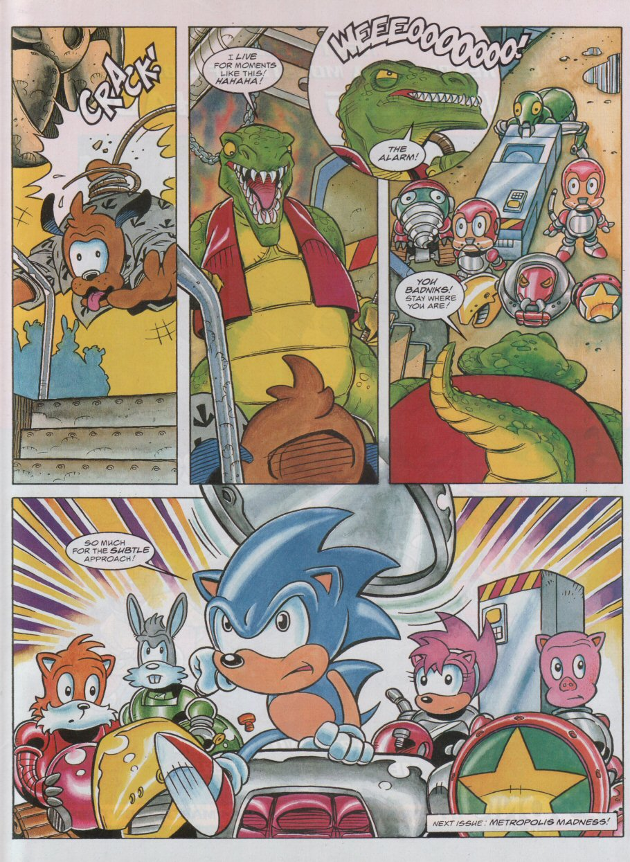 Sonic - The Comic Issue No. 055 Page 8