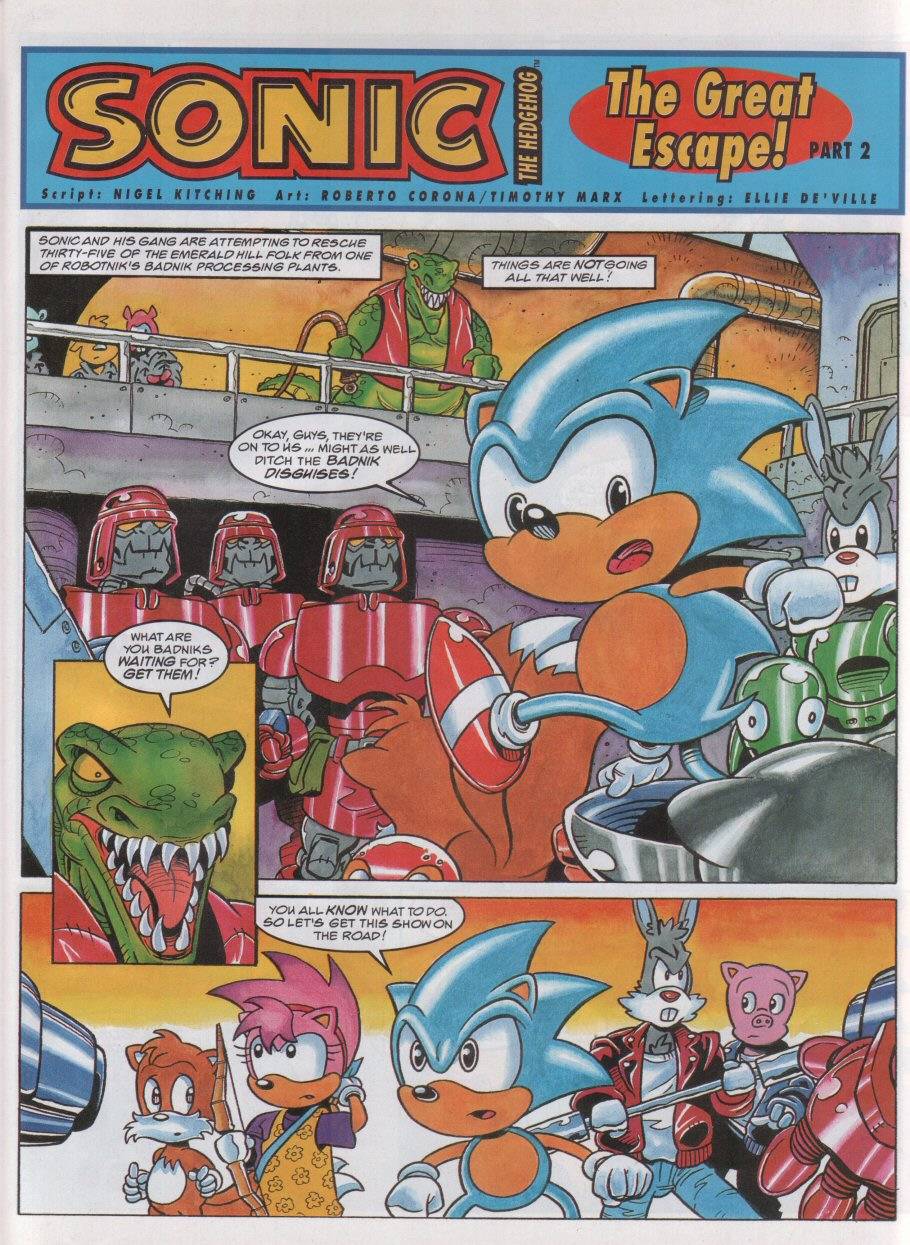 Sonic - The Comic Issue No. 056 Page 2