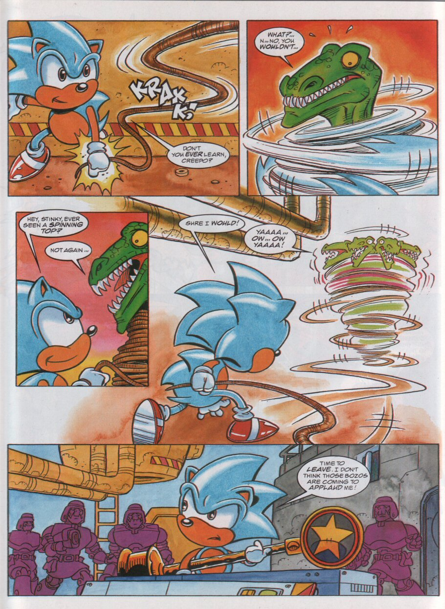 Sonic - The Comic Issue No. 056 Page 7