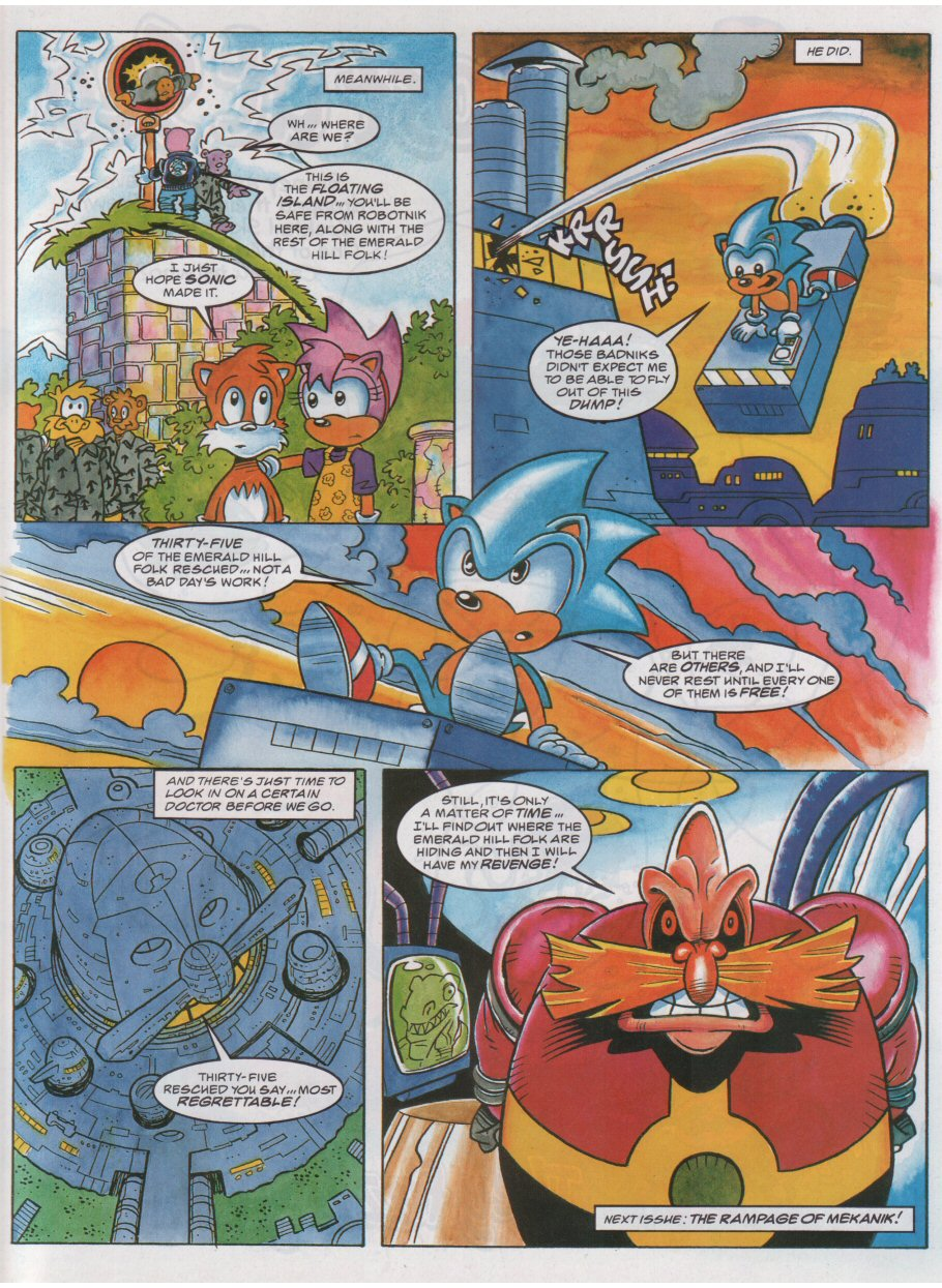 Sonic - The Comic Issue No. 056 Page 8