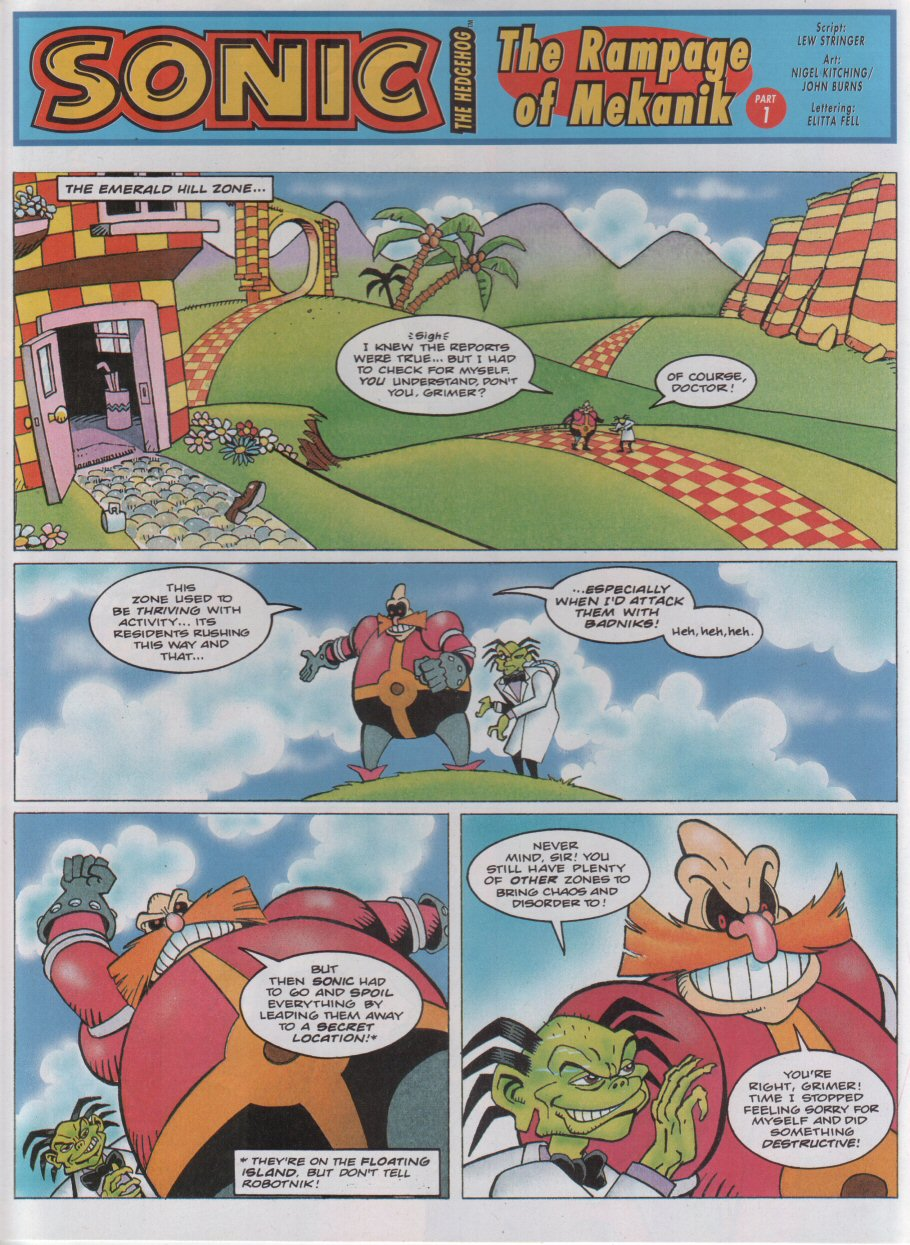 Sonic - The Comic Issue No. 057 Page 2