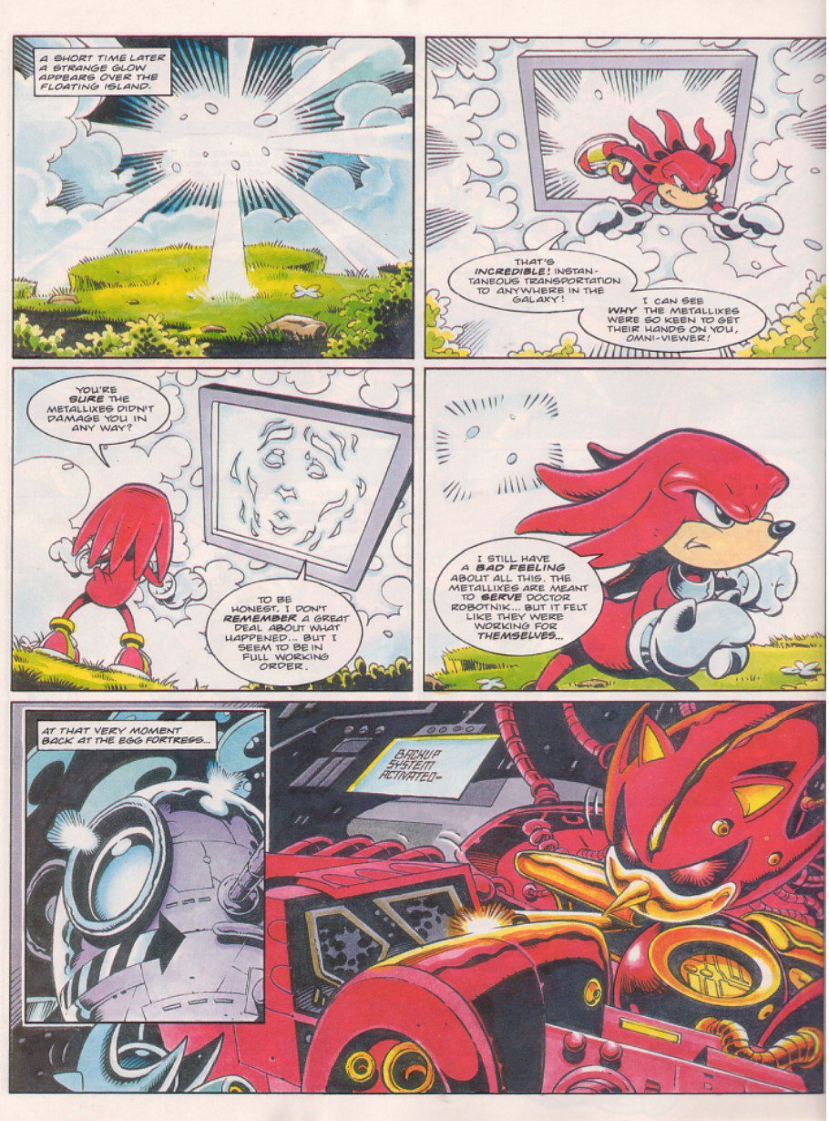Sonic - The Comic Issue No. 058 Page 20