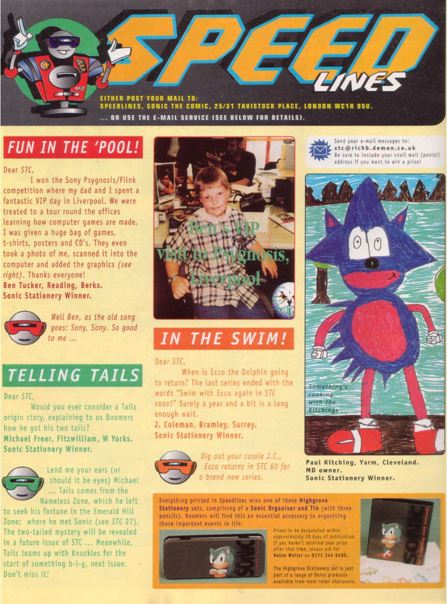 Sonic - The Comic Issue No. 058 Page 29