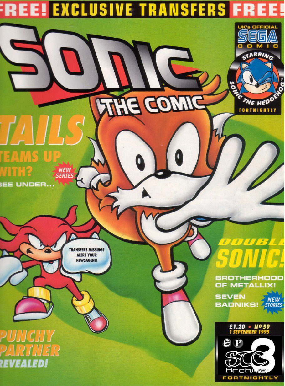 Sonic - The Comic Issue No. 059 Comic cover page