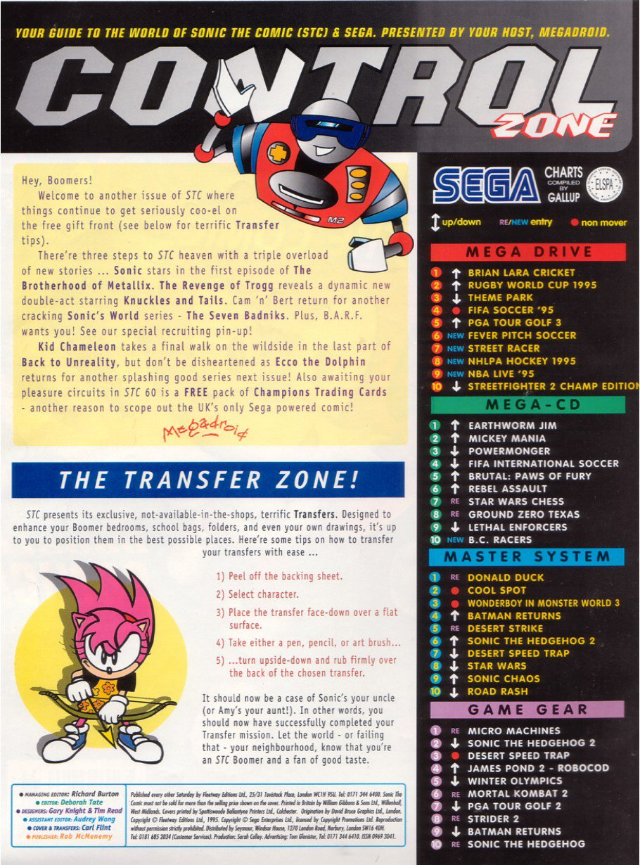 Sonic - The Comic Issue No. 059 Page 1