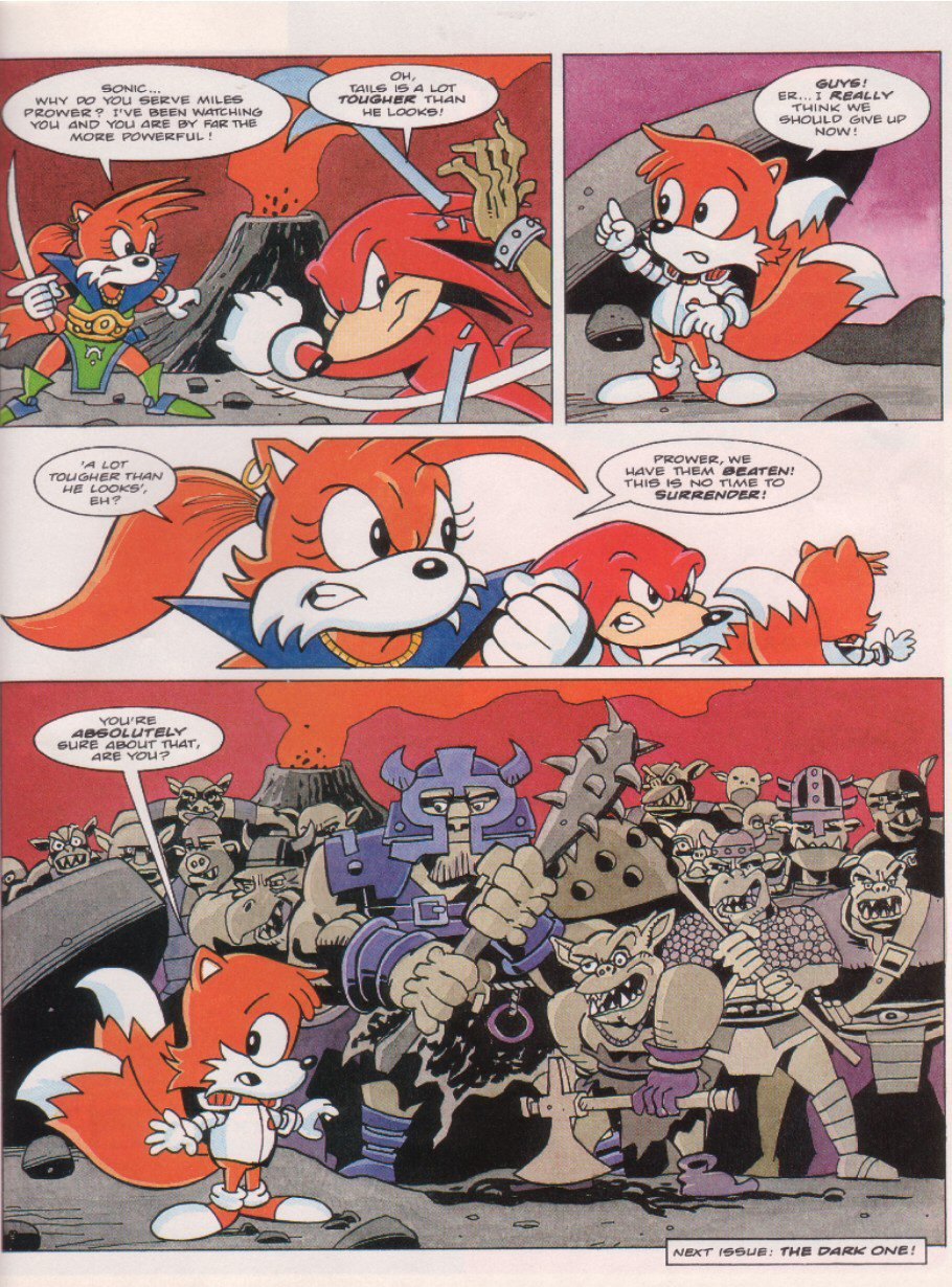 Sonic - The Comic Issue No. 061 Page 21
