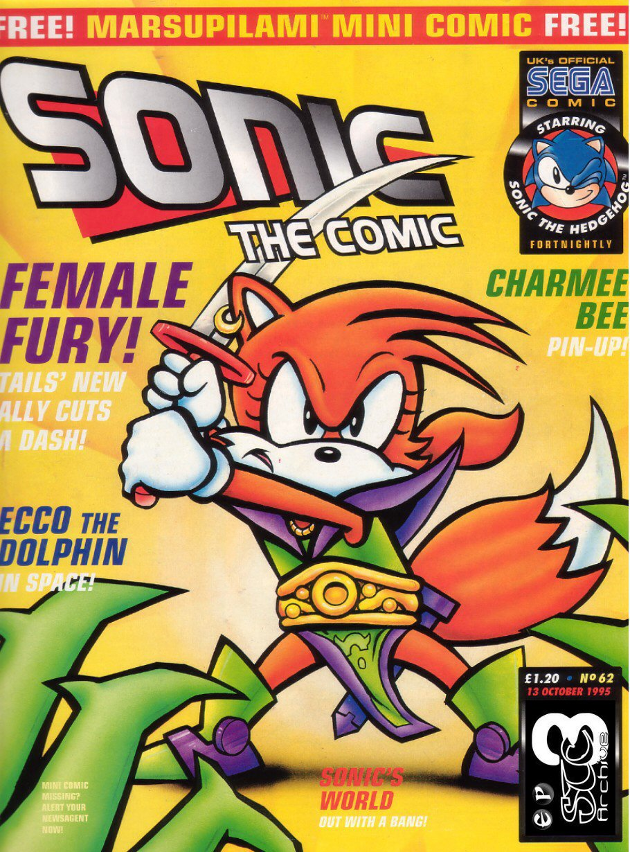 Sonic - The Comic Issue No. 062 Comic cover page