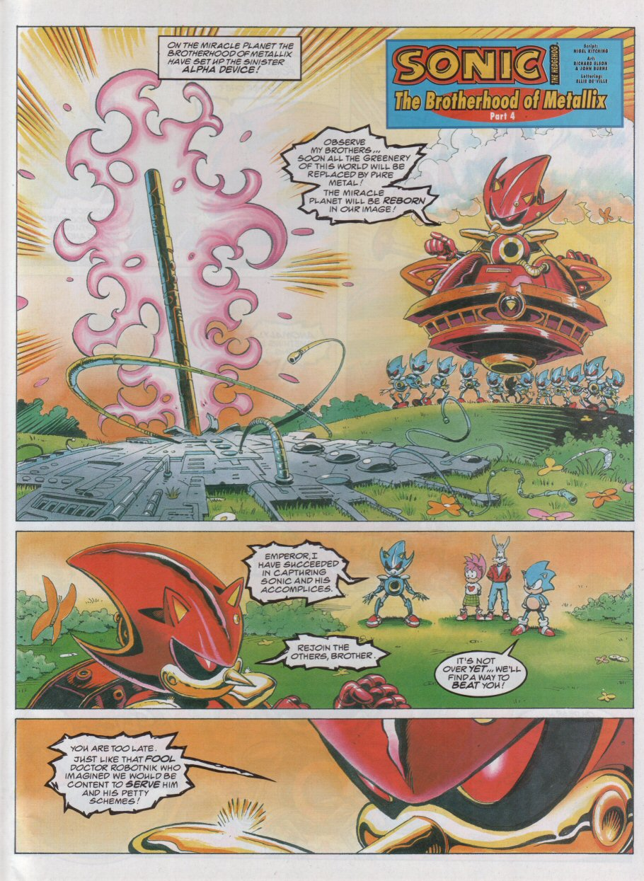 Sonic - The Comic Issue No. 062 Page 2