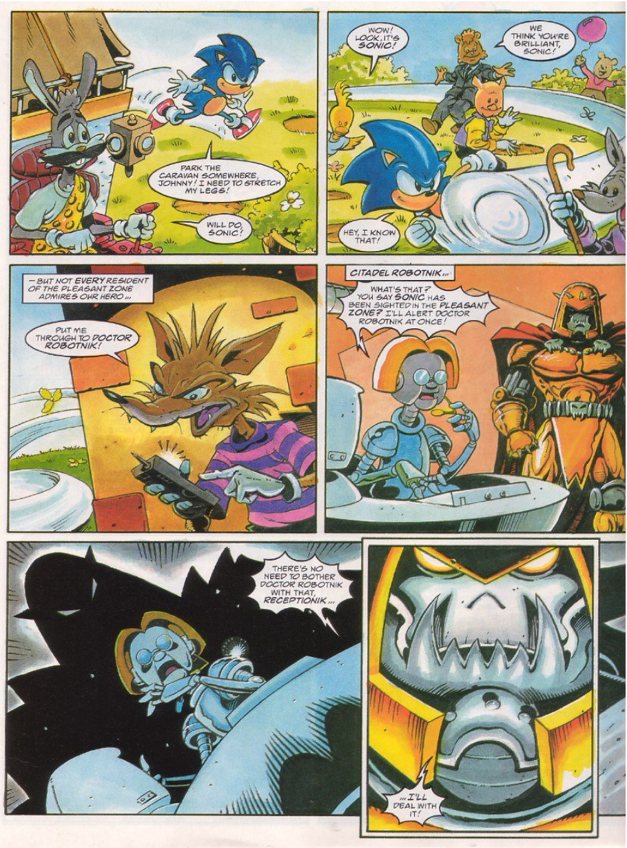 Sonic - The Comic Issue No. 063 Page 5