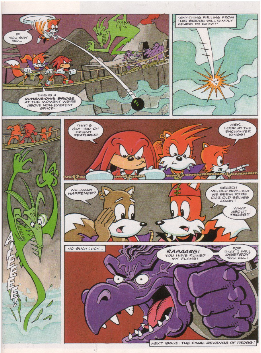 Sonic - The Comic Issue No. 063 Page 20