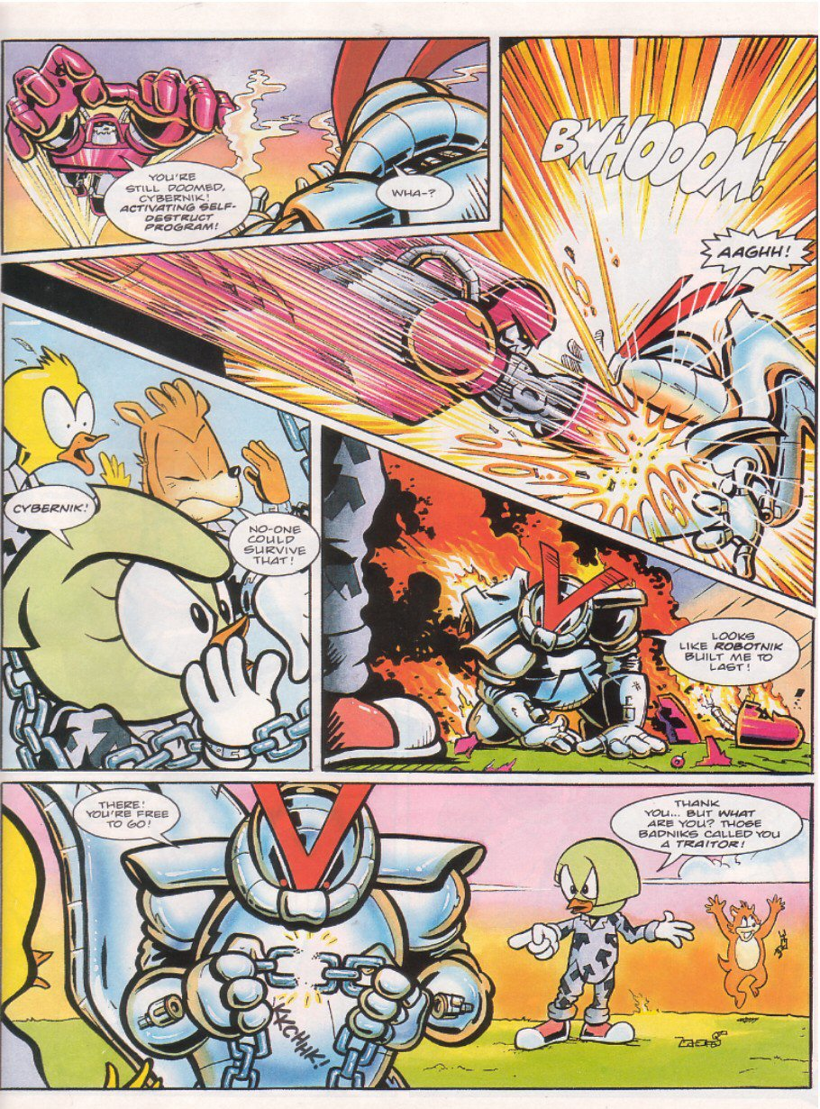 Sonic - The Comic Issue No. 063 Page 25
