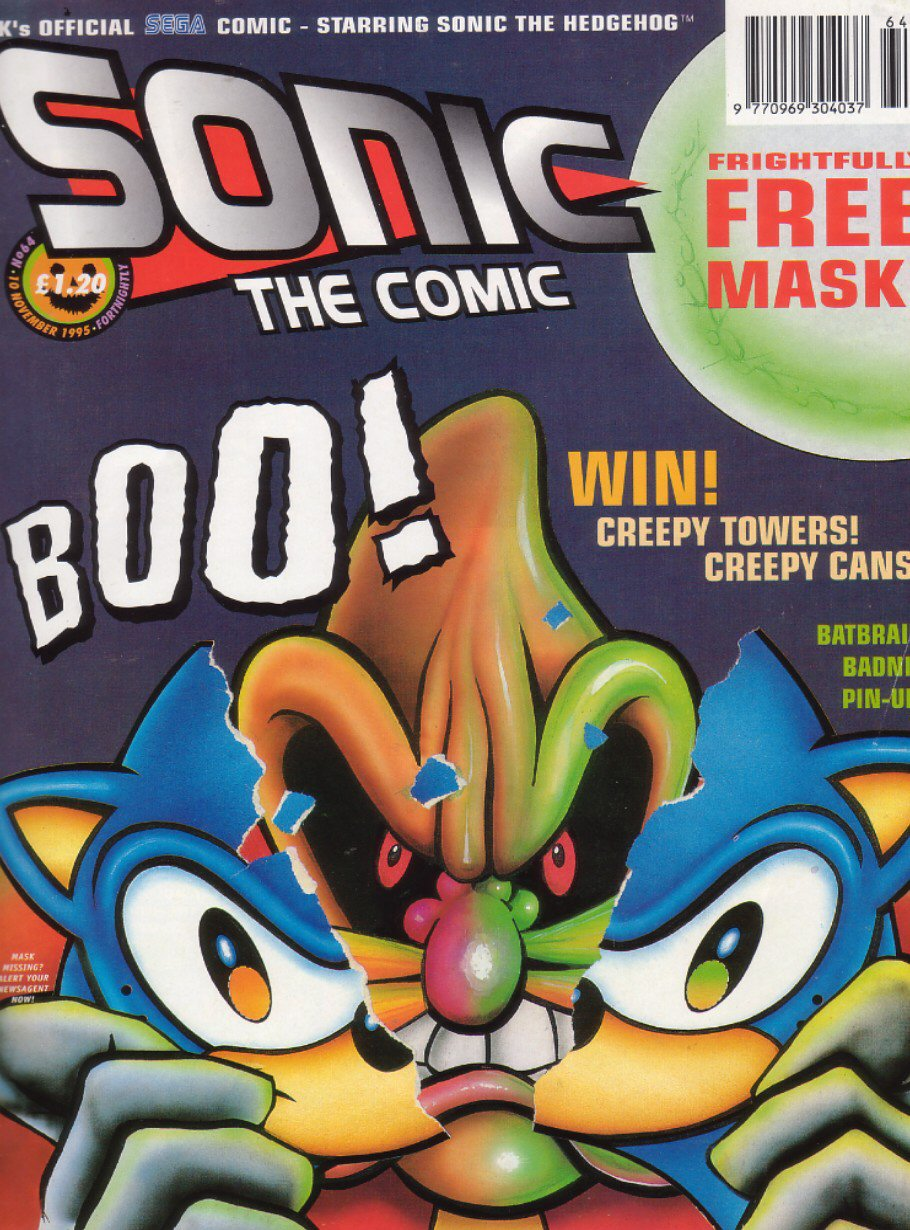 Sonic - The Comic Issue No. 064 Comic cover page