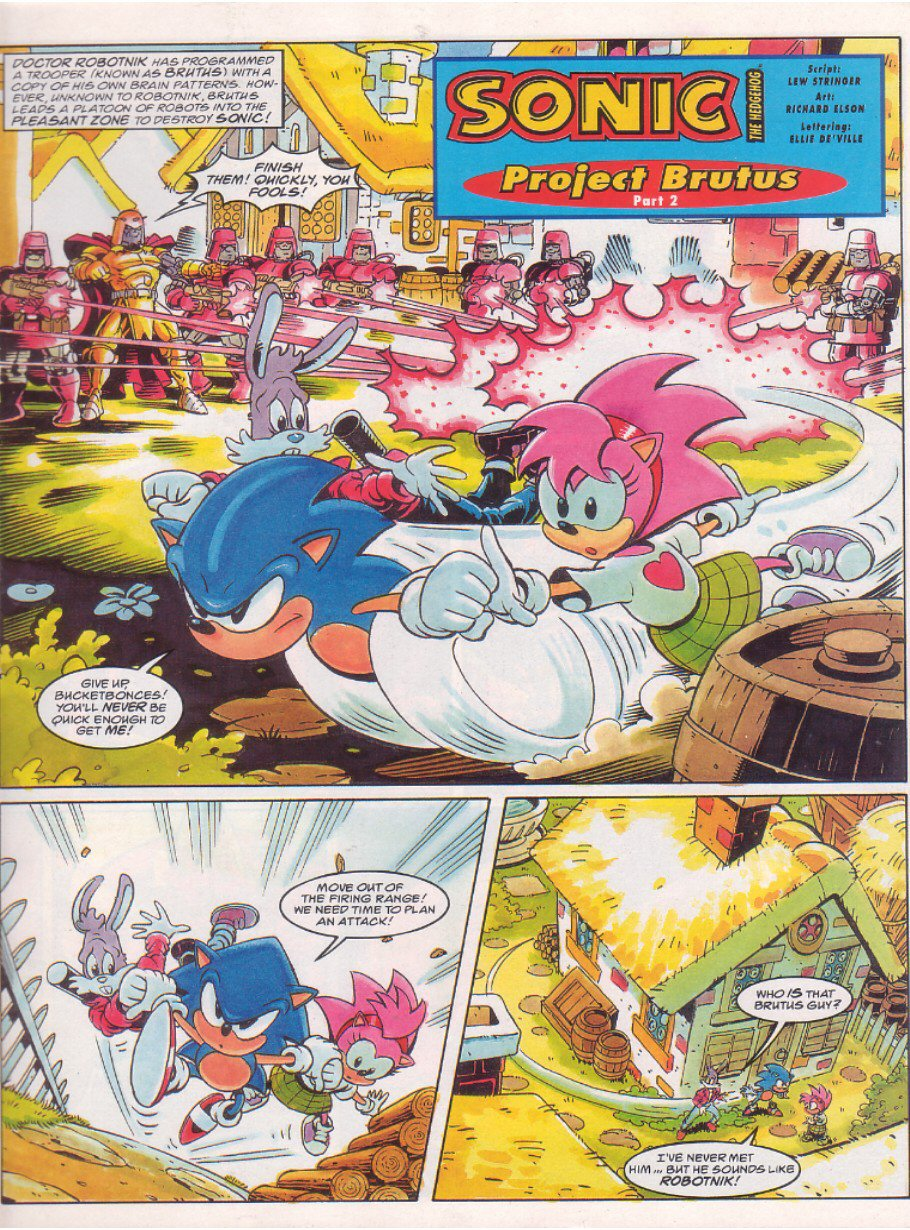 Sonic - The Comic Issue No. 064 Page 2