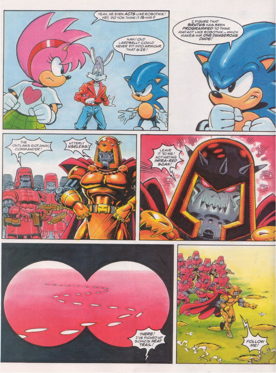 Sonic - The Comic Issue No. 064 Page 3