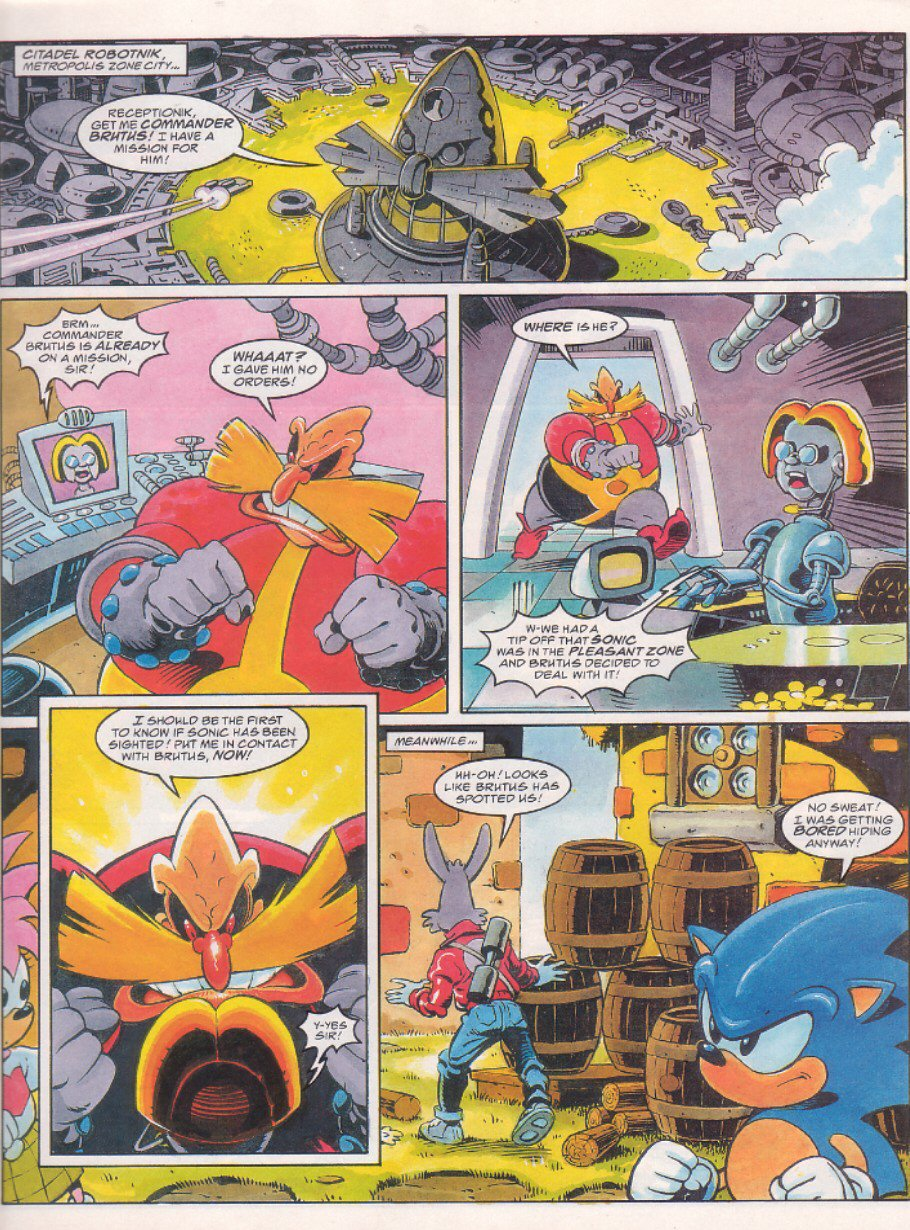 Sonic - The Comic Issue No. 064 Page 4