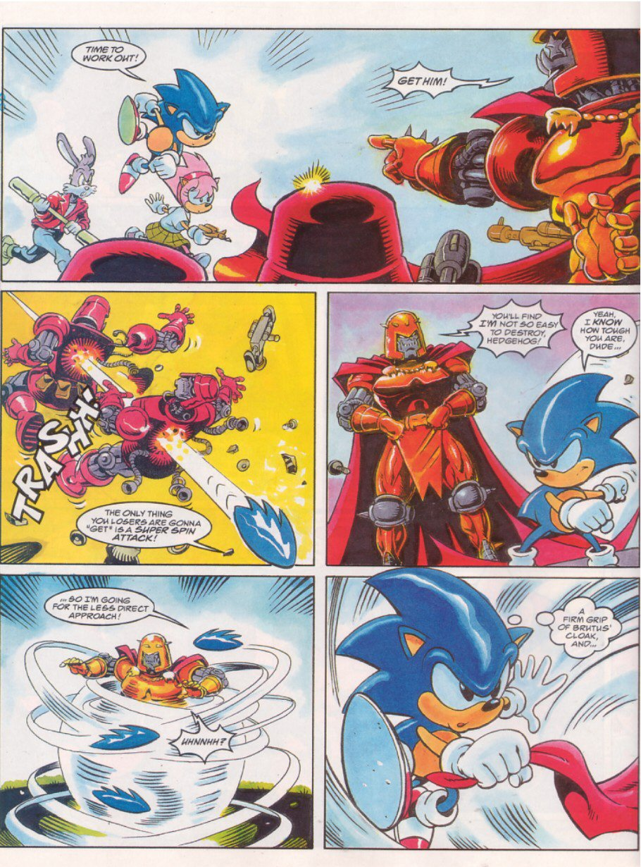 Sonic - The Comic Issue No. 064 Page 5