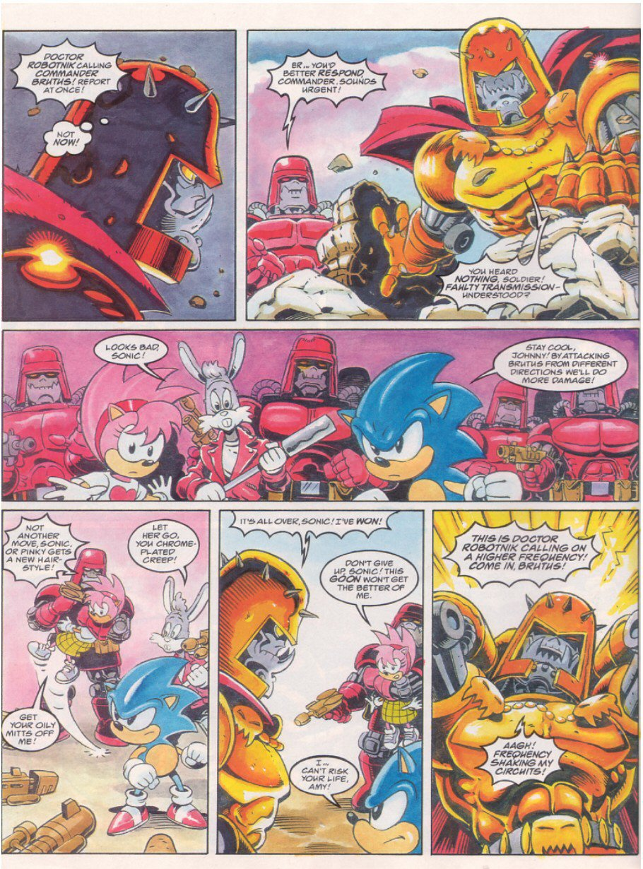 Sonic - The Comic Issue No. 064 Page 7