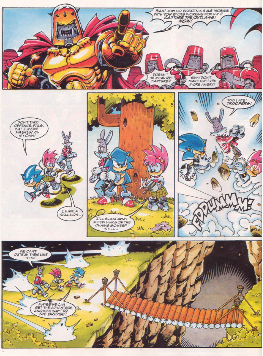 Sonic - The Comic Issue No. 065 Page 5