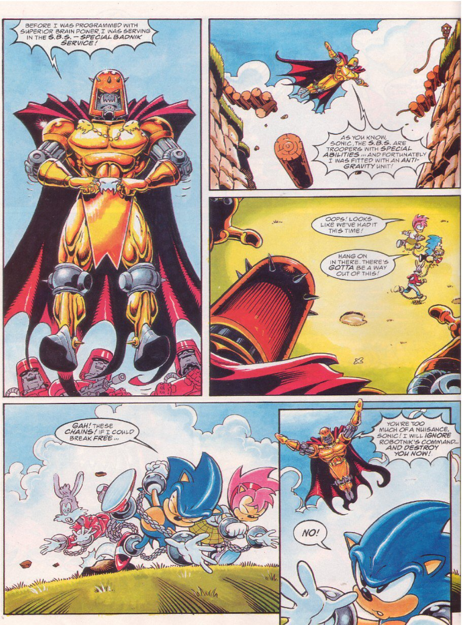Sonic - The Comic Issue No. 065 Page 7