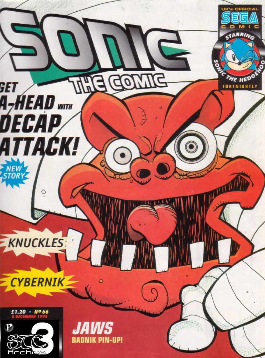 Sonic - The Comic Issue No. 066 Comic cover page