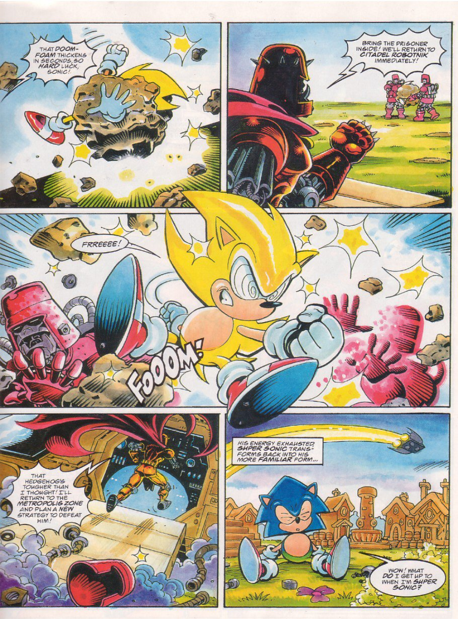 Sonic - The Comic Issue No. 066 Page 6