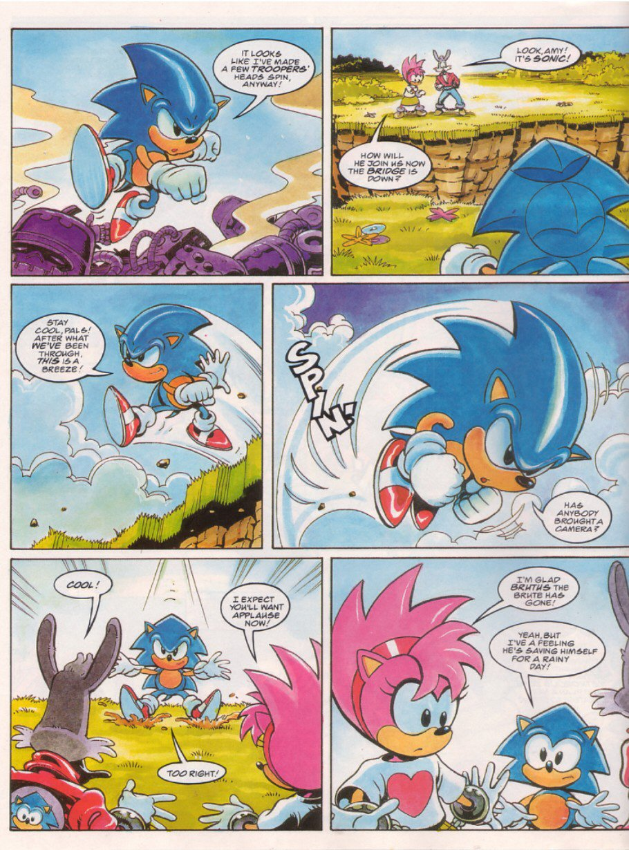 Sonic - The Comic Issue No. 066 Page 7