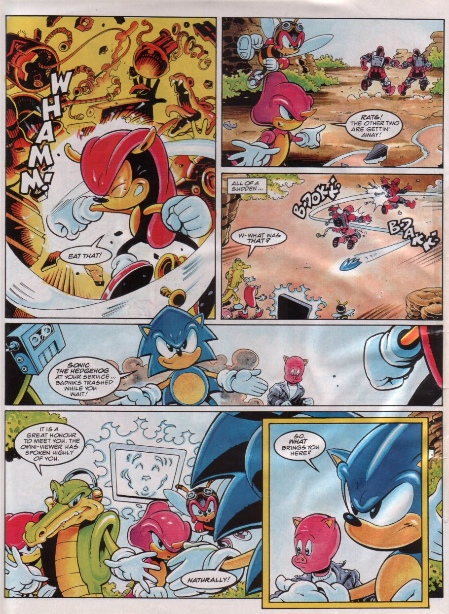 Sonic - The Comic Issue No. 067 Page 7