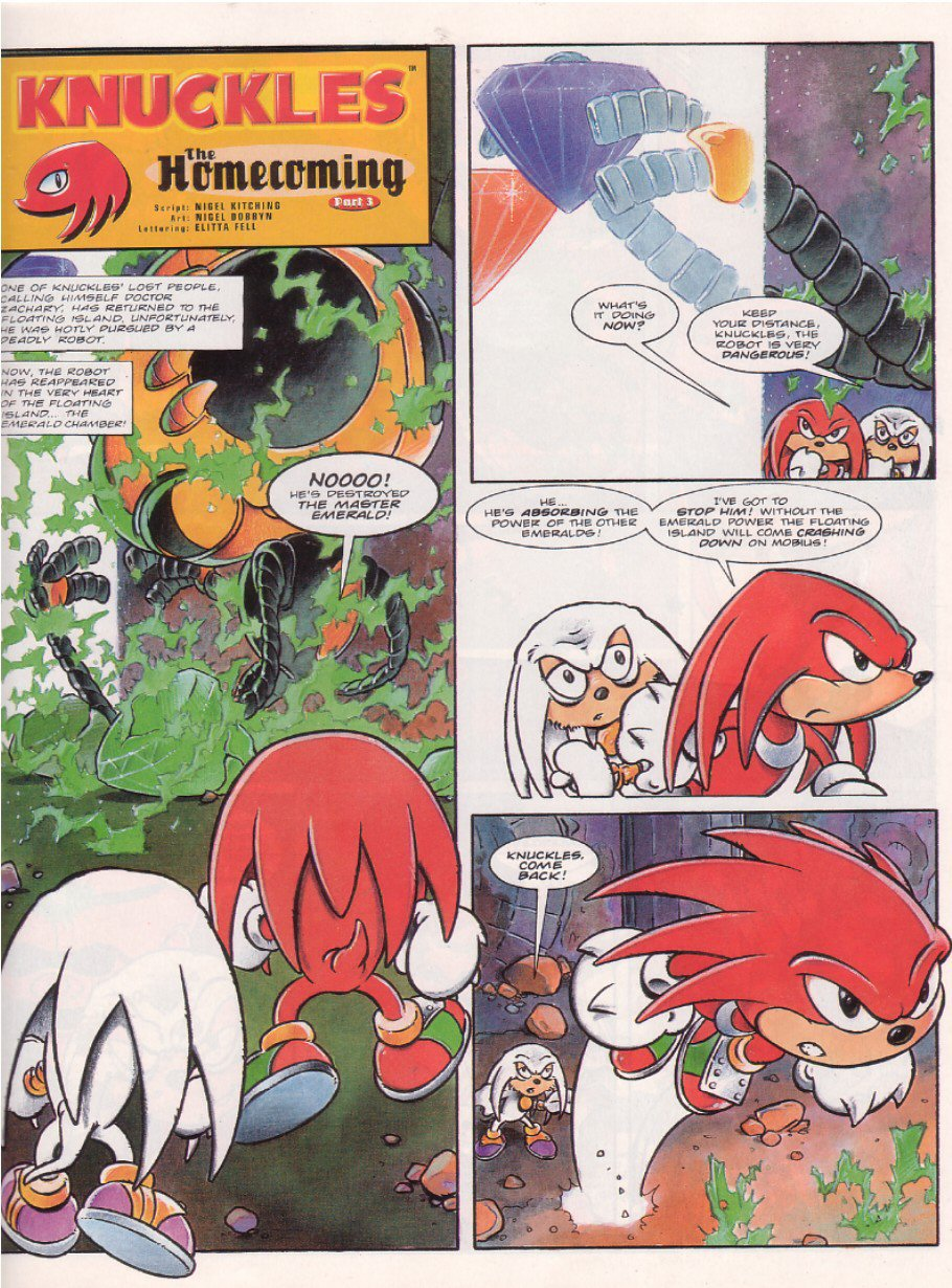Sonic - The Comic Issue No. 067 Page 16