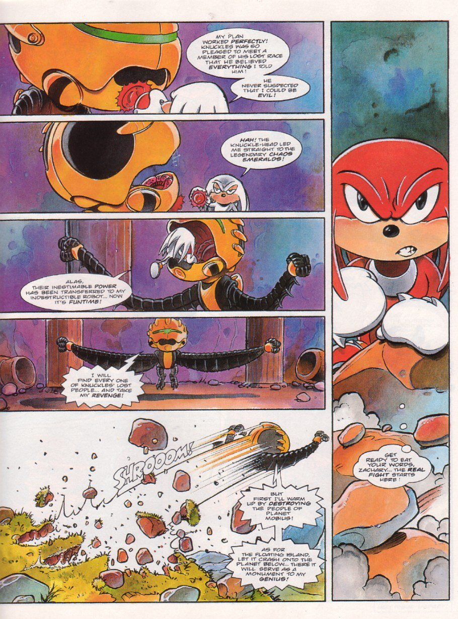 Sonic - The Comic Issue No. 067 Page 18
