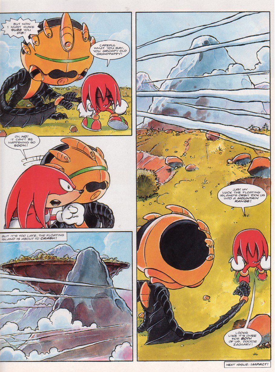 Sonic - The Comic Issue No. 067 Page 20