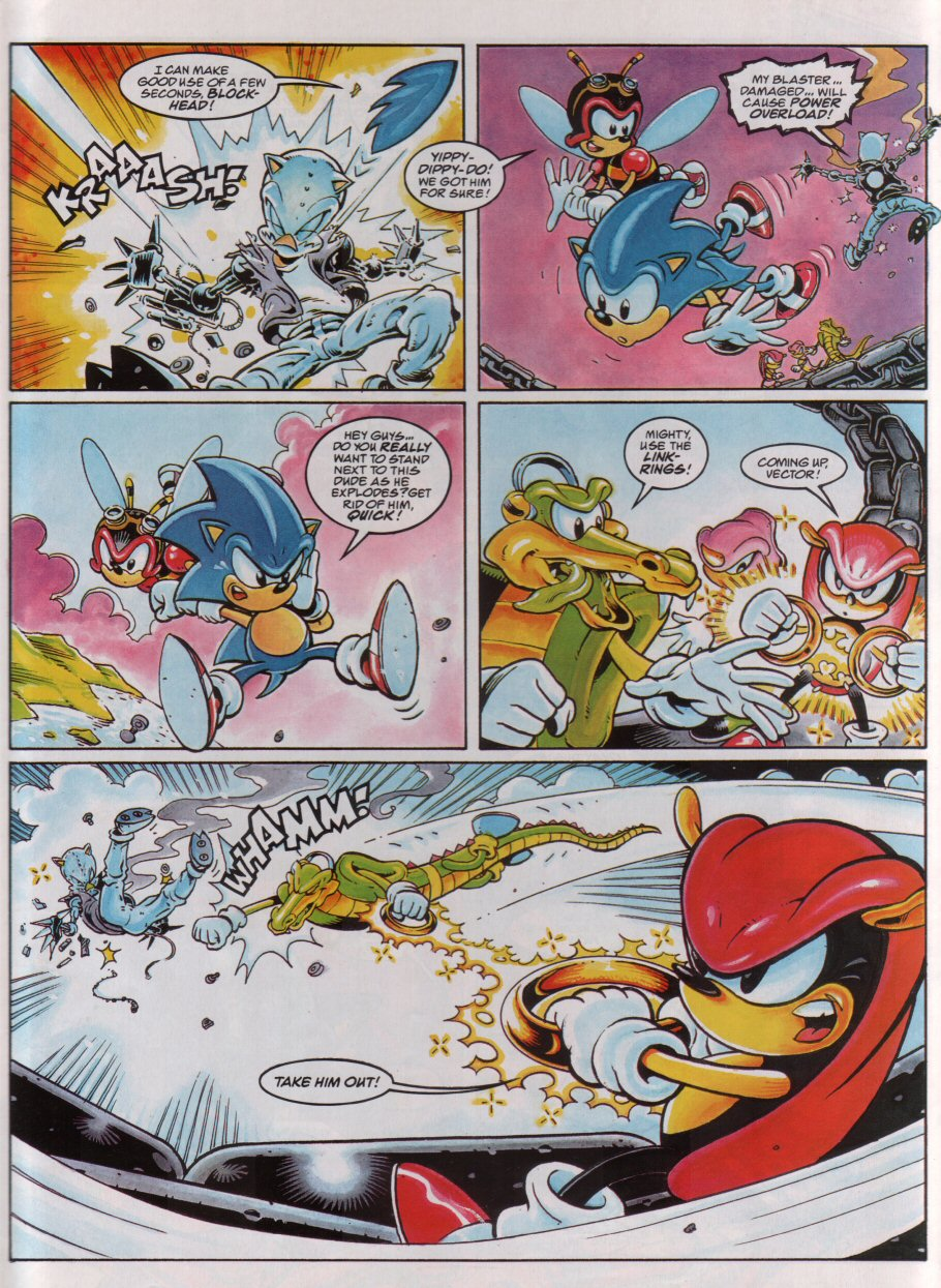 Sonic - The Comic Issue No. 068 Page 6