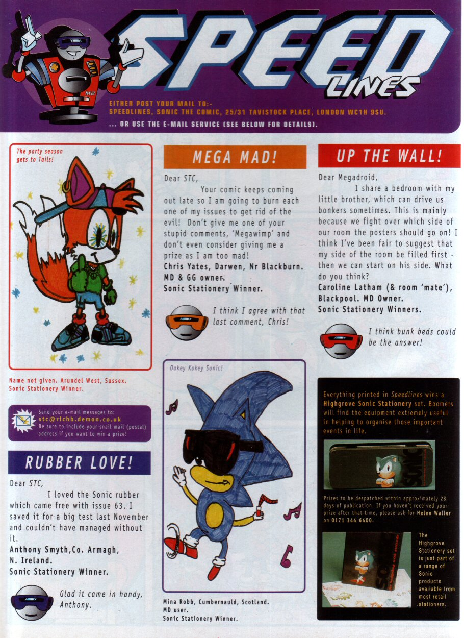 Sonic - The Comic Issue No. 068 Page 29