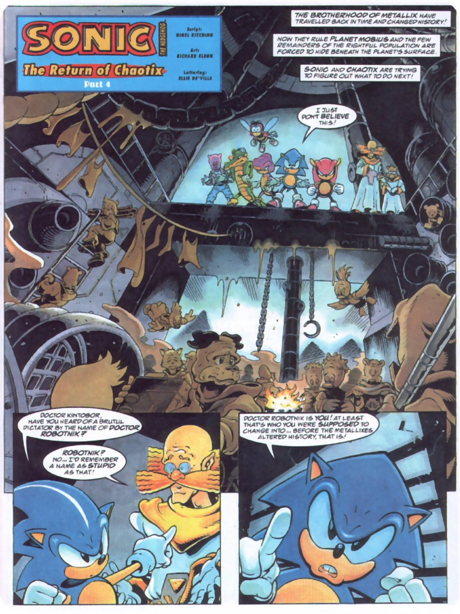 Sonic - The Comic Issue No. 070 Page 2