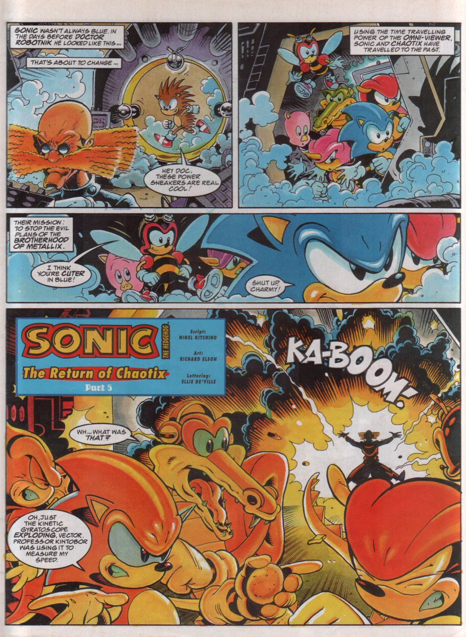 Sonic - The Comic Issue No. 071 Page 2