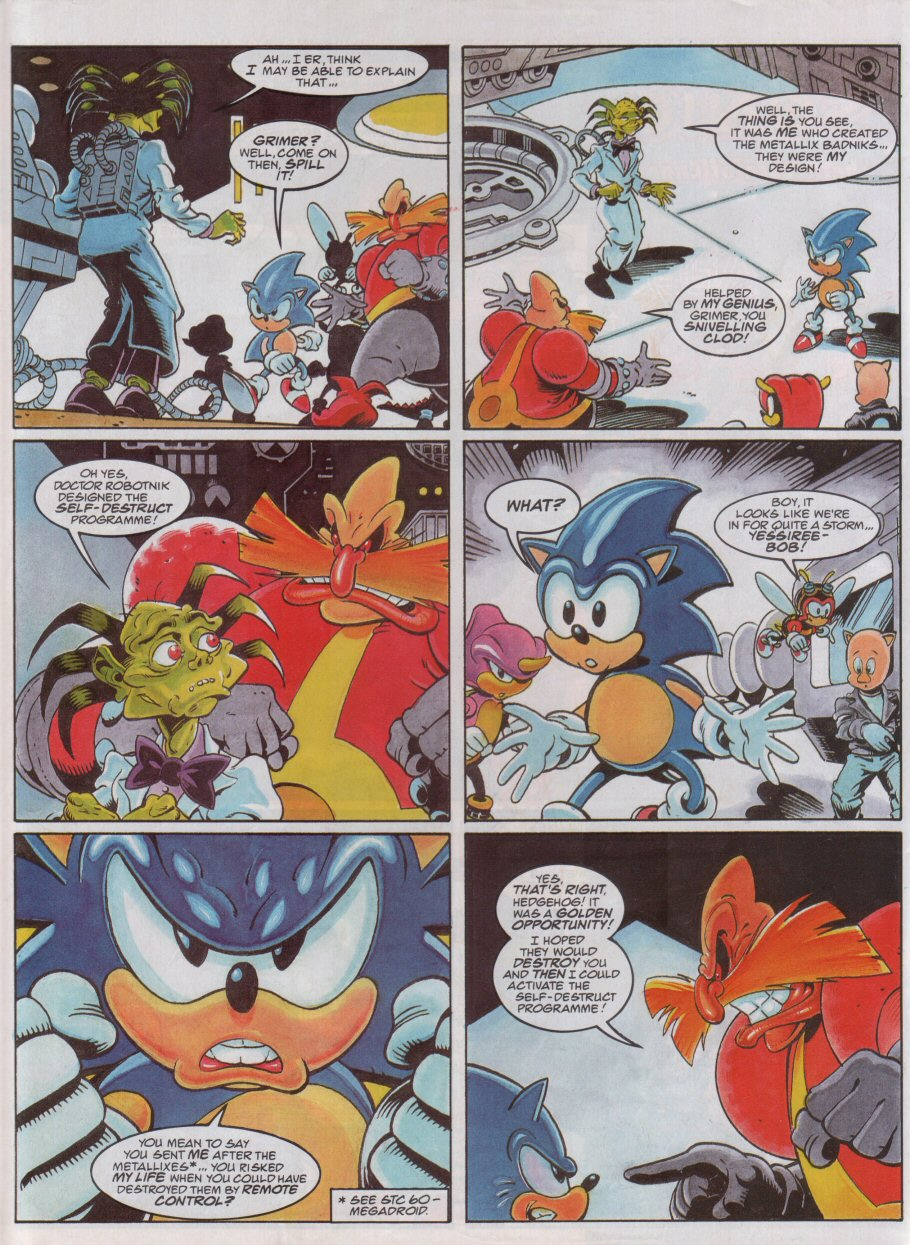 Sonic - The Comic Issue No. 072 Page 3