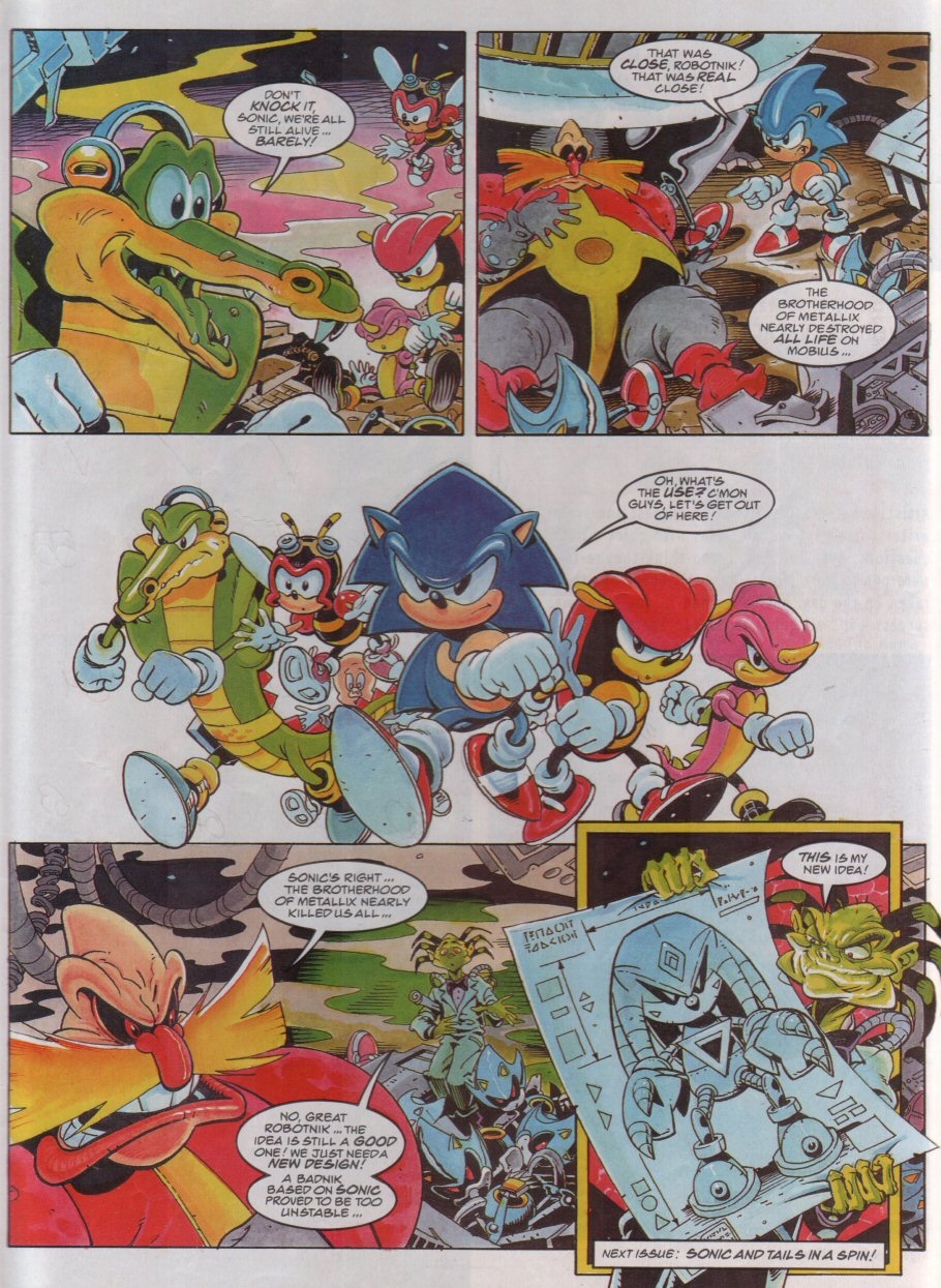 Sonic - The Comic Issue No. 072 Page 8