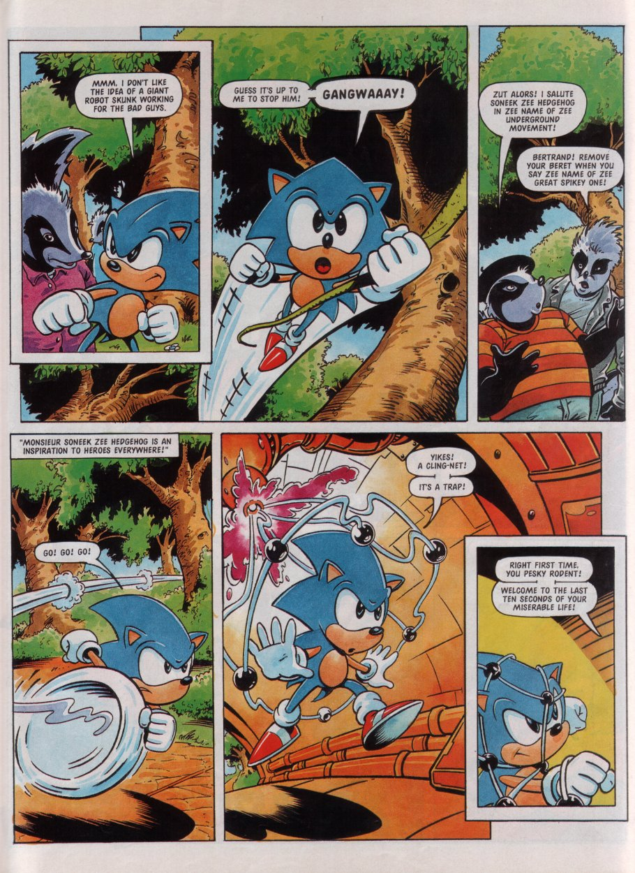 Sonic - The Comic Issue No. 072 Page 19
