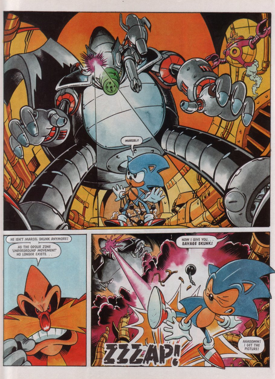 Sonic - The Comic Issue No. 072 Page 20