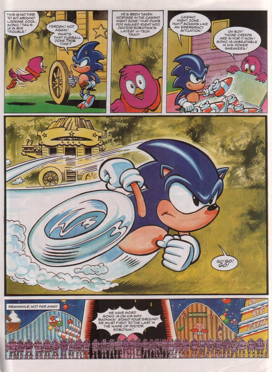 Sonic - The Comic Issue No. 073 Page 4