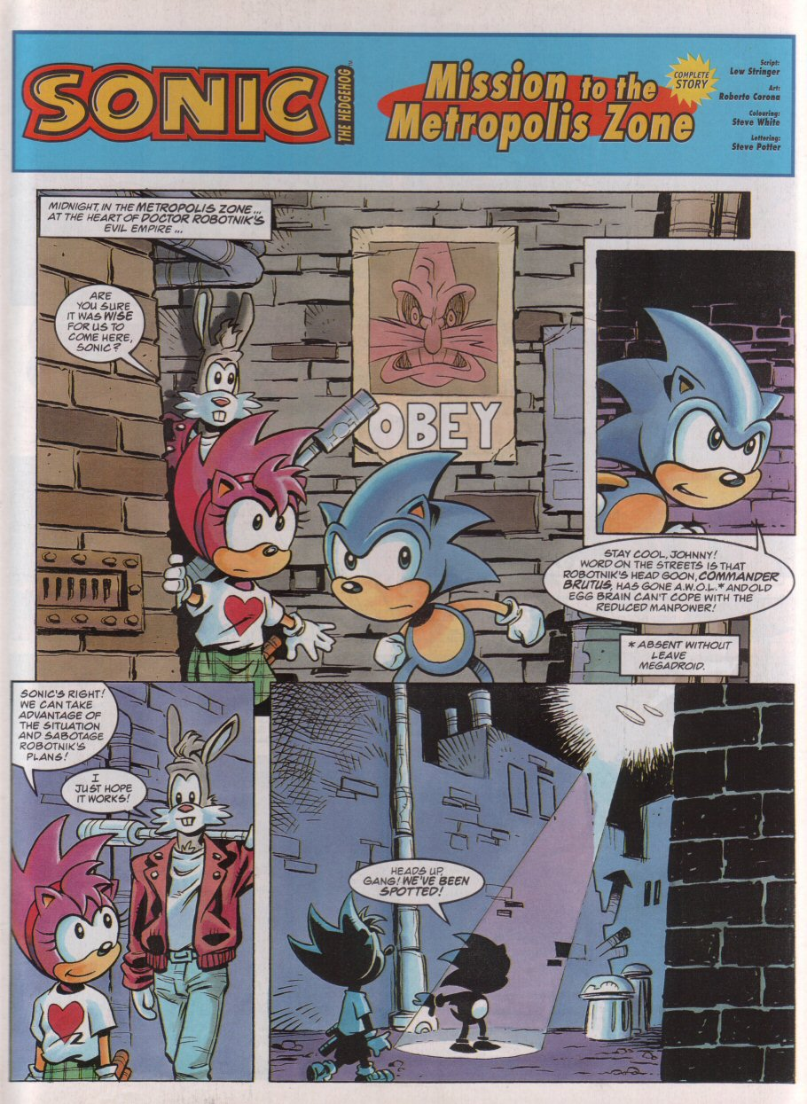Sonic - The Comic Issue No. 074 Page 2