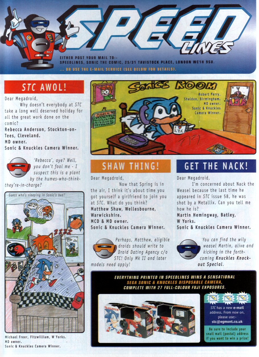 Sonic - The Comic Issue No. 074 Page 30