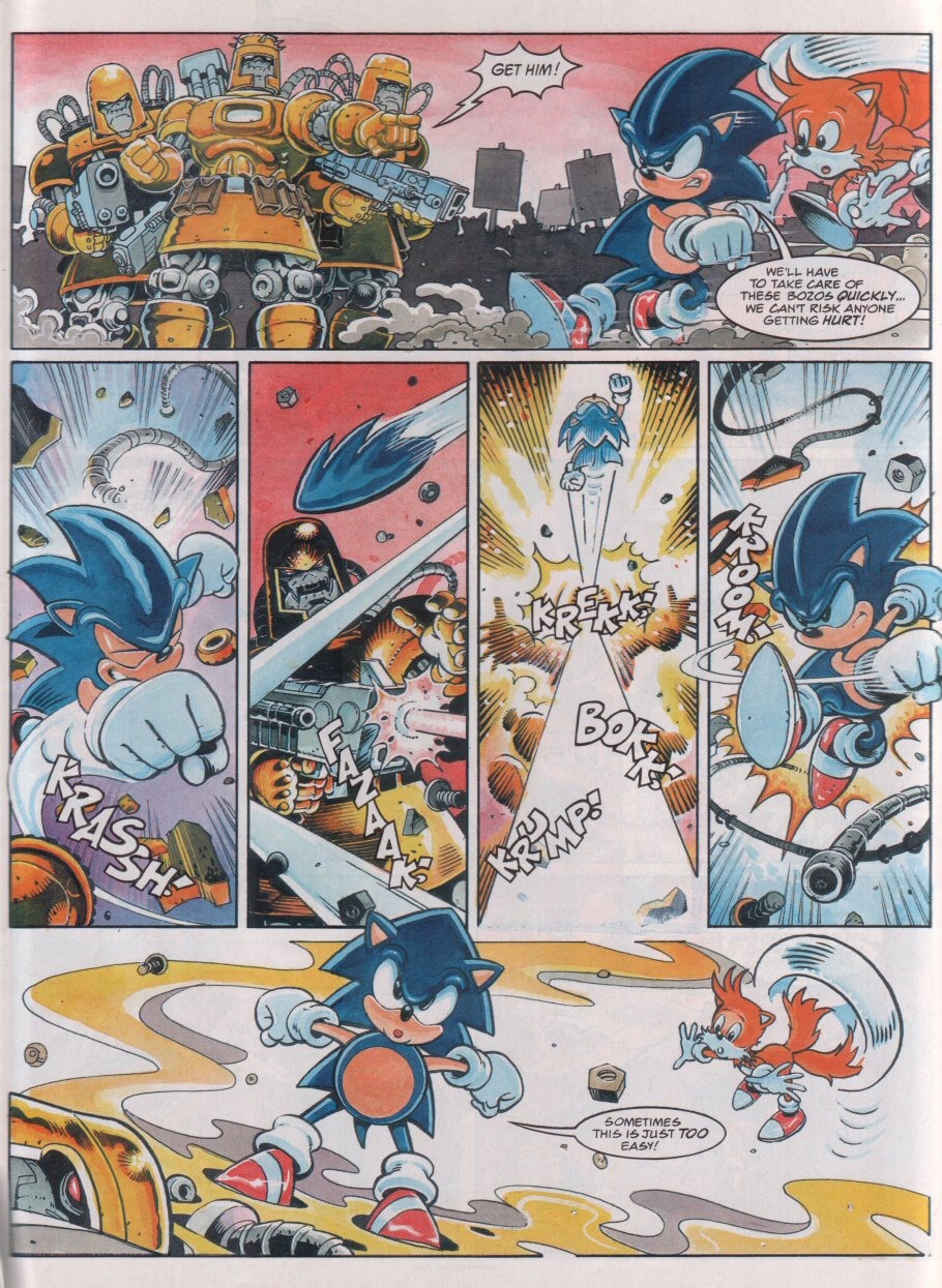 Sonic - The Comic Issue No. 077 Page 6