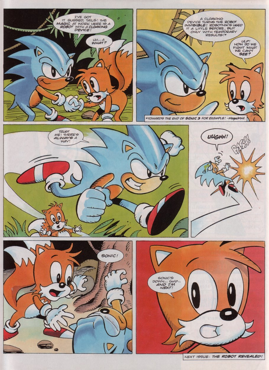 Sonic - The Comic Issue No. 077 Page 29
